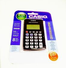 Casio HL-820VER Compact Battery Operated Currency Converter Pocket Calculator