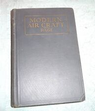 AIRCRAFT WATER AIR COOLED ENGINES PLANE CONTROL FUNDAMENTALS AIRPLANE 1928
