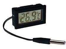 Velleman Pmtemp2 digital Termómetro para montaje en panel – negro ( – )