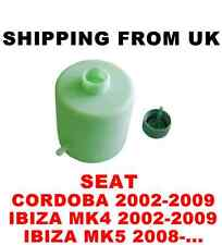 ELECTRIC POWER STEERING PUMP OIL EXPANSION TANK CAP SEAT CORDOBA IBIZA MK4 MK5