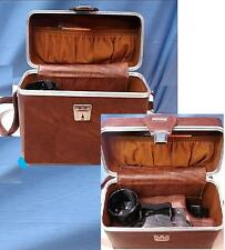 Hard-Shell Camera Case for Pentax K1000 or Canon AE-1 Minolta X700 35mm Cameras