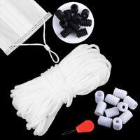 Bekleidung Handwerk Gummi Band Elastische Bänder Masken Seil Schnallen anpassen