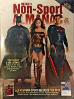 New 2019 Beckett Non Sport Almanac Price Guide 5th Edition w/ Superman & Batman