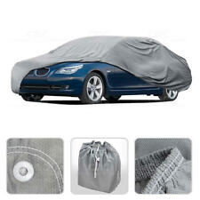 Car Cover for BMW 5 Series Outdoor Breathable Sun Dust Proof Auto Protection