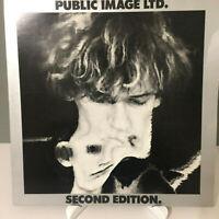 UK Gatefold Double 2x Vinyl LP: Second Edition - Public Image Mint UNPLAYED