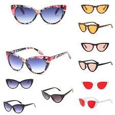 VTG 50s/60s Style womens Cat Eye Sunglasses Retro Rockabilly Glasses uk stock