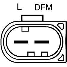 Remanufactured Alternator 12877 Remy