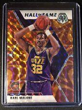 New Listing2019-20 Mosaic Basketball Orange Reactive Karl Malone #284 Jazz