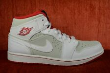 7976e6c3ef7f96 WORN ONCE Nike Air Jordan 1 Mid Hare Bugs Bunny White 2015 719551-123 Size