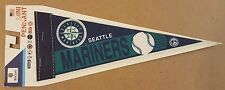 Seattle Mariners Vintage Baseball Mini Pennant with Backer Board WinCraft