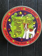 Milestones Paw Print Kit in a Tin: Every Dog Has Its Day BRAND NEW