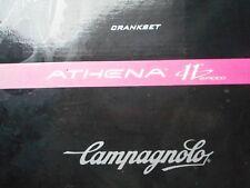Campagnolo Athena Ultra Torque Carbon crank set 172.5mm, 115 BCD