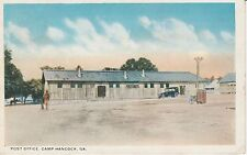 1920's The Post Office at Camp Hancock in Augusta, GA Georgia PC
