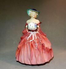 "Ca.1955 Royal Doulton Made In England Bone China Figurine ""Genevieve"" Hn1962 /nr"