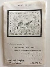 "Vintage Jane Snead Samplers ""Two Birds"" Kit/No. 573"
