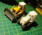 DasMikro Das87 DS87E07 HO Scale 1/87 734 Bulldozer DIY Kit US