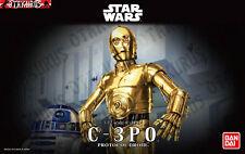 C-3PO Droid Star Wars Scale 1/12 Model Kit Bandai C3PO