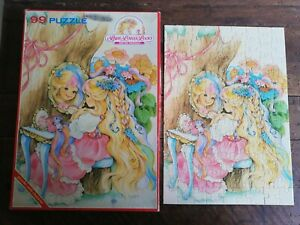 LADY LOVELY LOCKS Puzzle 99 Pezzi Completo Vintage Play Time