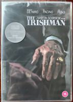 The Irishman DVD 2019 Scorsese Gangster Film W/Robert De Niro Criterion Bnib