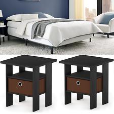 3 Piece Bedroom Set Furniture Queen Size Full Twin Adjustable Bed Frame Black