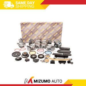Engine Rebuild Kit Fit 01-05 Chevrolet Tracker Suzuki Grand Vitara 2.5L H25A