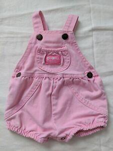 Vintage Oshkosh Baby Bubble pink 3/6m