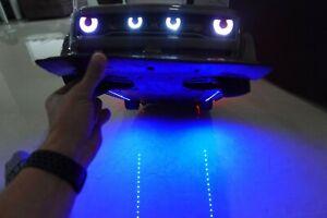 Carbon Fiber Aero Side Skirts Arrma INFRACTION + Underglow Lights Many Colors