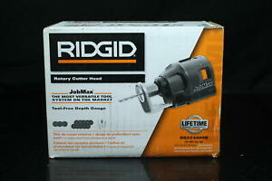 Ridgid R8223409B JobMax Rotary Cutter Head with Included Drywall Cutter Bit