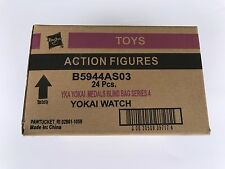 Yo-Kai Watch Medals Series 4 Blind Bag Case of 24 Bags YoKai Box Lot Bulk