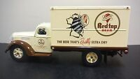 RED TOP BEER - CINCINNATI, OHIO TOY TRUCK  1/34 SCALE - INTERNATIONAL KB-8