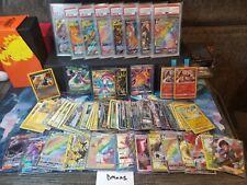 Pokemon Card Mystery box: 50+cards, and holo rare or higher/Psa read description