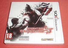 Nintendo 3DS Resident Evil The Mercenaries 3D [NEUF, Blister FRA] 2DS Super JRF