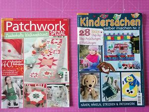 1 Set Patchwork Spezial Weihnachten Kindersachen selber machen 68 Projekte