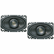 KENWOOD KFC4675C 4X6 COAX 2 WAY SPEAKERS (PAIR)