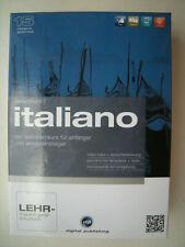 Sprachkurs 1 ITALIANO Selbstlernkurs Anfänger Wiedereinsteiger Italienisch