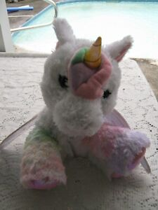 Barbie UNICORN Plush Unicorn  horse  Lights & Talks - Just Play-Mattel