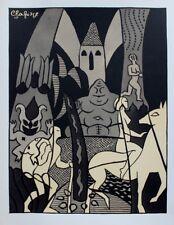 RARE : Lucien LAFORGE Poèmes de Baudelaire 20 Lithos Originales 1/300 RIVES 1951