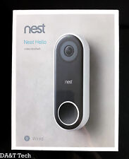 Nest Hello Smart Wi-Fi Video Doorbell (Requires Wired Doorbell & Chime) NC5100US