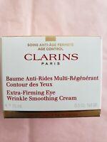 Clarins Extra-Firming Eye Wrinkle Smoothing Cream 0.5 oz NIB sealed
