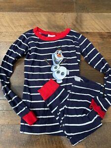 Hanna Andersson Organic Cotton Disney Collection Frozen PJ's Sz 10