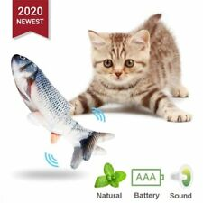 New listing Cat Toy Interactive Motion Play Electronic Pet Toy Funny Dancing Fish Sensing.*