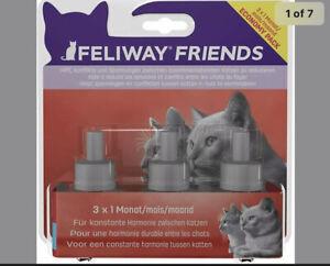 *NEW* - Feliway Friends 30 Day Refill, 3 x 48ml Pet Supplies Cat