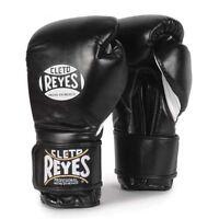 Cleto Reyes Velcro Boxing Gloves Adult Black Sparring Gloves 10oz 12oz 14oz 16oz