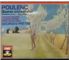 Poulenc: Selected Orchestral/Georges Pretre, Jacques Fevrier - CD