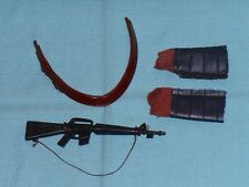 vintage Mego POTA Planet of the Apes SOLDIER APE BANDOLIER, GUN, GLOVES LOT