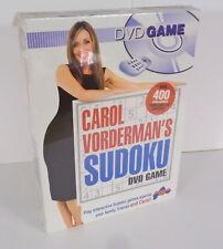 Carol Vorderman's Sudoku(Dvd Game) Brand New Sealed Pack