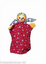 "Kersa 60220 Hand puppet ""Gretel"" for Puppet Theater Wooden Head new! #"