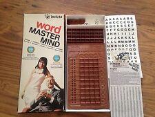 Vintage 1975 mot master mind game by invicta master mind défi classique
