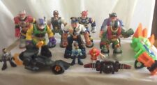 Fisher Price Rescue Heroes 7� Action Figures Good to Vguc
