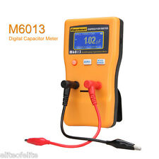 Excelvan M6013 Digital Auto Ranging Capacitance Meter Tester Capacitor Tester US